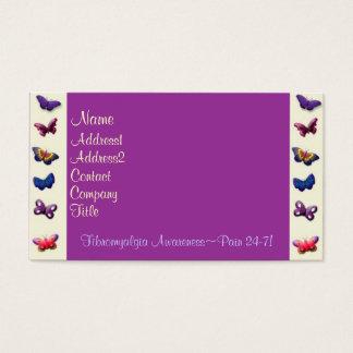 Bedrijfs/van het Profiel kaart-Vlinders Visitekaartjes
