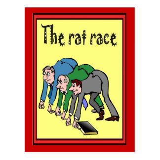 Bedrijfs Vrienden, het rattenras Briefkaart