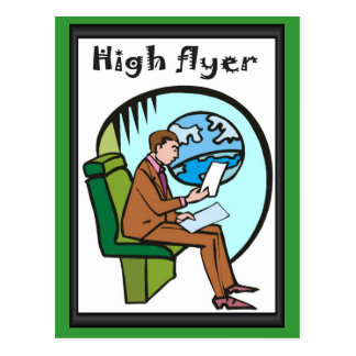 Bedrijfs vrienden, Hoge vlieger Briefkaart