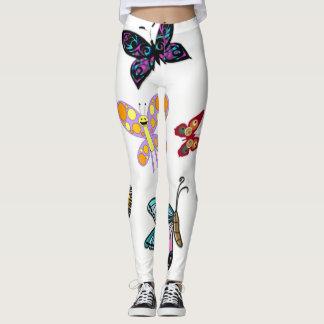 beenkappen vlinders leggings