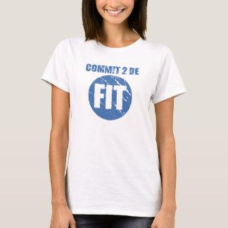 Bega Geschikte | Retro CERULEAN Stijl | te zijn T Shirt