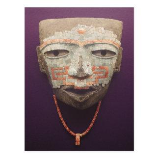 Begrafenis masker van Teotihuacan Briefkaart