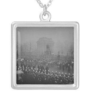 Begrafeniscortege van koningin Victoria's Zilver Vergulden Ketting