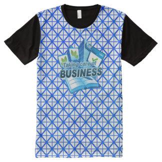 Behandelend Bedrijfswit Al Gedrukte T-shirt