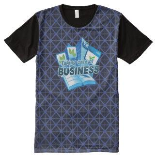Behandelend Commerciële marine Al Gedrukte T-shirt