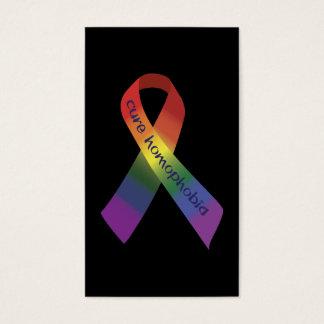 Behandeling Homophobia Visitekaartjes