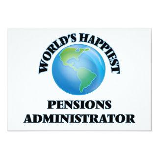 Beheerder van de Pensioenen van de wereld de 12,7x17,8 Uitnodiging Kaart