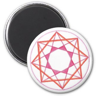 Beheersing Mandala #2 Magneet