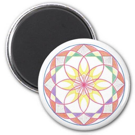 Beheersing Mandala Magneten