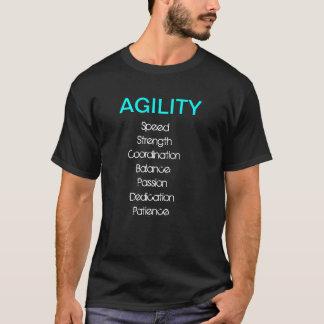 Behendigheid Wat het T-shirt neemt