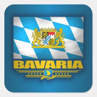 Beieren Vierkante Sticker