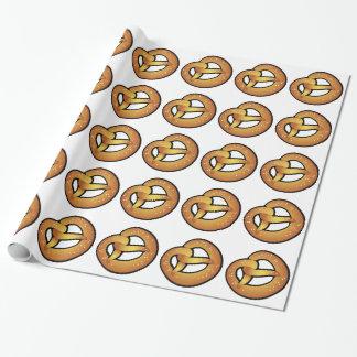 Beierse pretzel cadeaupapier