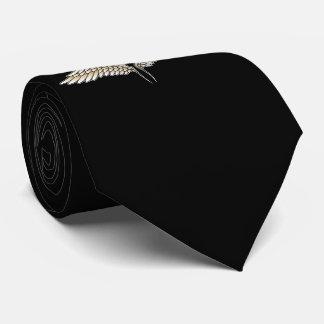 Beige vleugels custom stropdassen