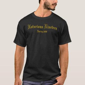 Bekende Negentien, de Lente van 2006 T Shirt