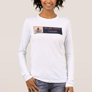 Bekrachtig E.R.A. in de T-shirt van Virginia