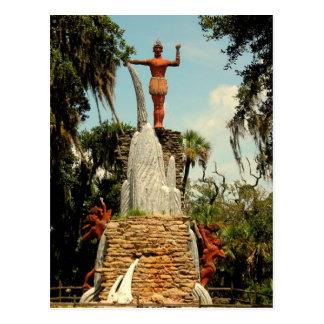 Belangrijkst Tomokie Standbeeld, het Park van de Briefkaart