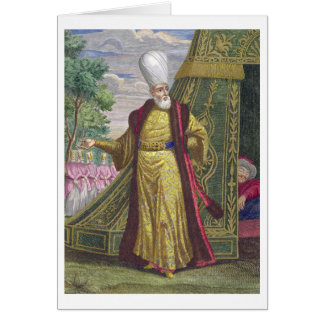Belangrijkste Janissary, van 'Recueil d'estampes Briefkaarten 0