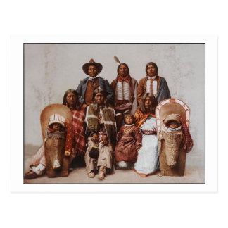 Belangrijkste Sevara Familie Ute 1897 Briefkaart