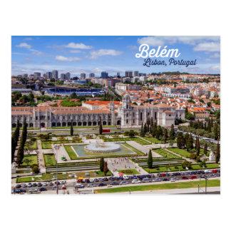 Belém, Lissabon, Portugal Briefkaart