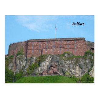 Belfort - briefkaart