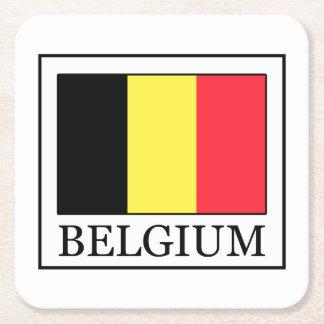 België Vierkante Onderzetter