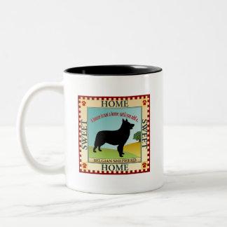 Belgische Herder Tweekleurige Koffiemok