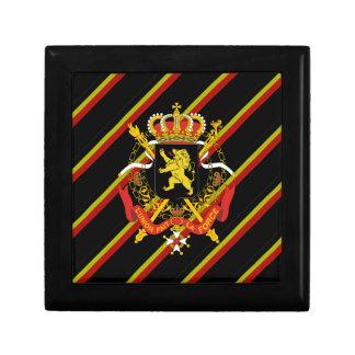 Belgische strepenvlag decoratiedoosje