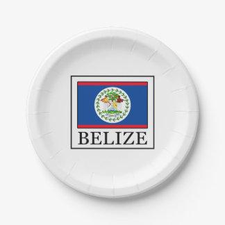Belize Papieren Bordje
