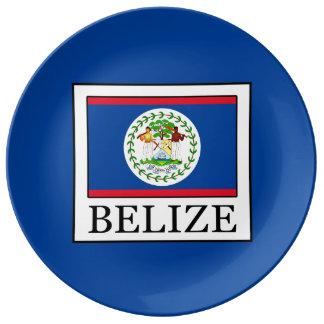 Belize Porseleinen Bord