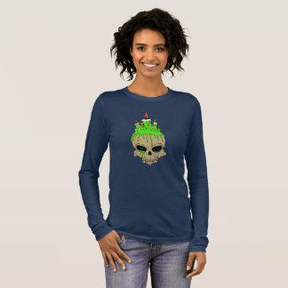 Bella van de Vrouw van de schedel+T-shirt van het T Shirts