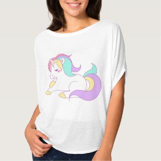Bella van de Vrouwen van de eenhoorn+De Bovenkant T Shirt