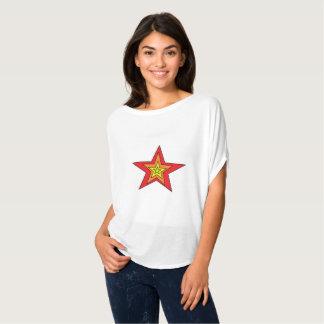 Bella van vrouwen+De Bovenkant van de Cirkel van T Shirt