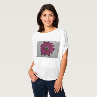 Bella van vrouwen+De Witte Bovenkant van de Cirkel T Shirt