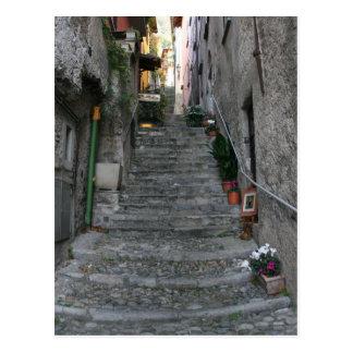 Bellagio, Italië ~ op Treden Briefkaart