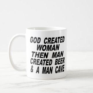 Bemant de god Creëere Vrouw dan het Creëere Hol Koffiemok