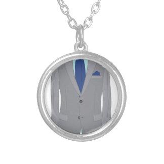 Bemant Kostuum Zilver Vergulden Ketting