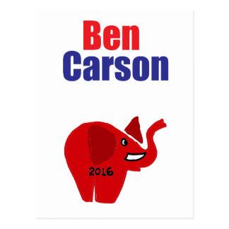 Ben Carson voor het Ontwerp van het President Briefkaart
