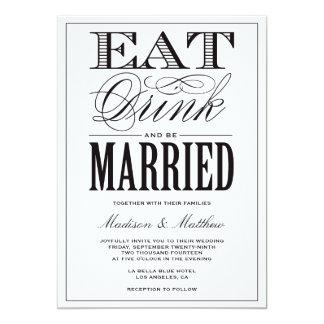 Ben de Gehuwde Uitnodiging van het Huwelijk van |