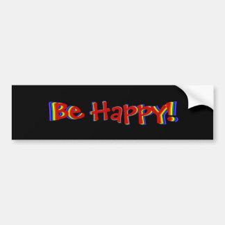 Ben de Gelukkige Sticker van de Bumper van de Rege