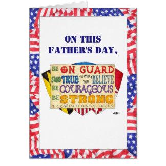Ben de Sterke Kaart van het Vaderdag van de Douane
