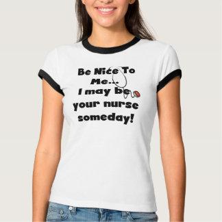Ben de T-shirt van de Verpleegster van Nice