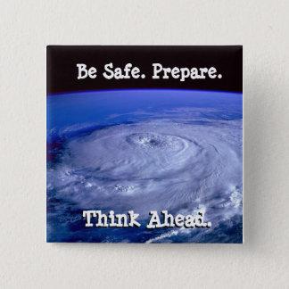 Ben de Veilige Knoop van de Orkaan Vierkante Button 5,1 Cm