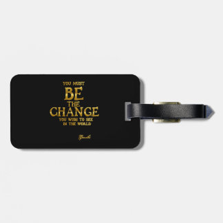 Ben de Verandering - het Inspirerend Citaat van de Bagagelabel