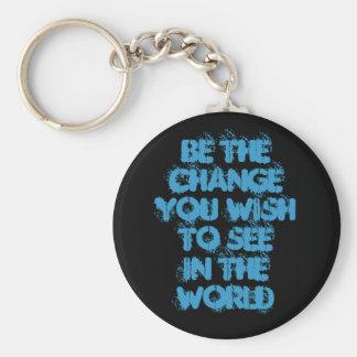 Ben de Wens ChangeYou aan SeeIn de Wereld Sleutelhanger