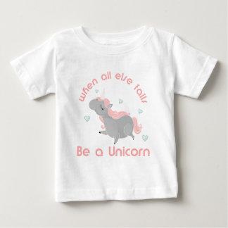 Ben een Eenhoorn Baby T Shirts