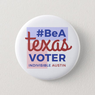 Ben een Knoop van de Kiezer van Texas Ronde Button 5,7 Cm