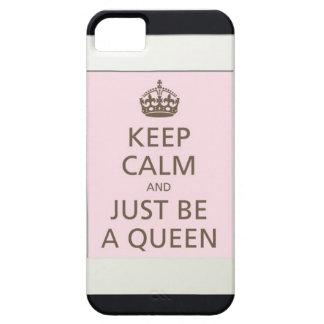 ben een koningin barely there iPhone 5 hoesje