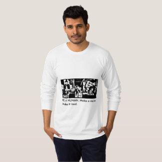 Ben een mens - lang-sleeveJersey overhemd T Shirt