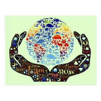 Ben één met de Aarde Briefkaart