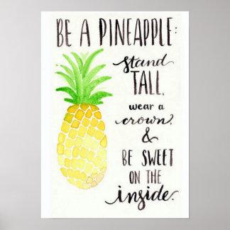Ben een Poster van de Ananas